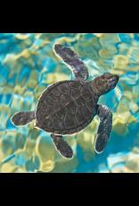 Zen Art & Design Mosaic Sea Turtle (Teaser, 50 Pieces, ZEN Wooden Jigsaw Puzzle)