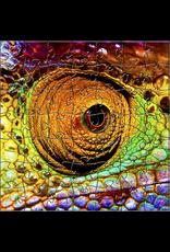 Zen Art & Design Chameleon (Teaser, 50 Pieces, Artisanal Wooden Jigsaw Puzzle)