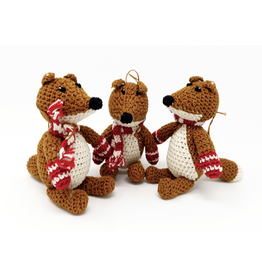 Melange Collection FOX ORNAMENT (CROCHET)