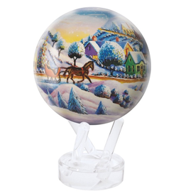 """Mova Globes HOME FOR THE HOLIDAYS (w/Acrylic Base, 4.5""""D.)"""