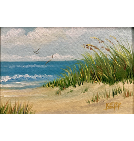 Carol Kepp Miniatures (Original Oil, Framed, Signed)