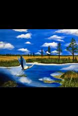 Cliff Potenza The Lowlands Salt Marsh (Original Oil, Signed, 30x40)