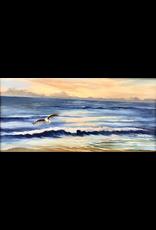 Carol Kepp Searching (Original Oil, 12x24, Framed, Signed, CARK)