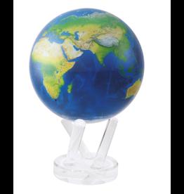 "Mova Globes EARTH (w/Acrylic Base, 6""D.)"