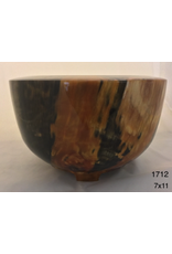 Joe Montagnino BOWL (w/Feet, Norfolk Island Pine, #1712, JOEM)
