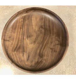 David L. Jones Serving Tray (Black Walnut, 10.5D. x 2.5H)