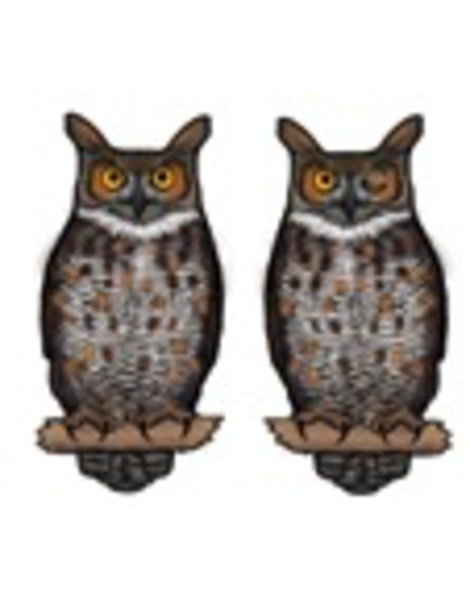 Jabebo Earrings OWL (GREAT HORNED)