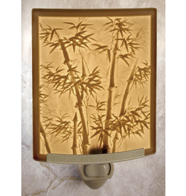Porcelain Garden BAMBOO (Lithophane Nightlight)