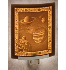 Porcelain Garden CELESTIAL BODIES (Lithophane Nightlight)
