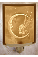 Porcelain Garden FAIRY MOON (Lithophane Nightlight)