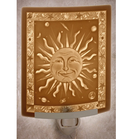 Porcelain Garden MR. SUN (Lithophane Nightlight)