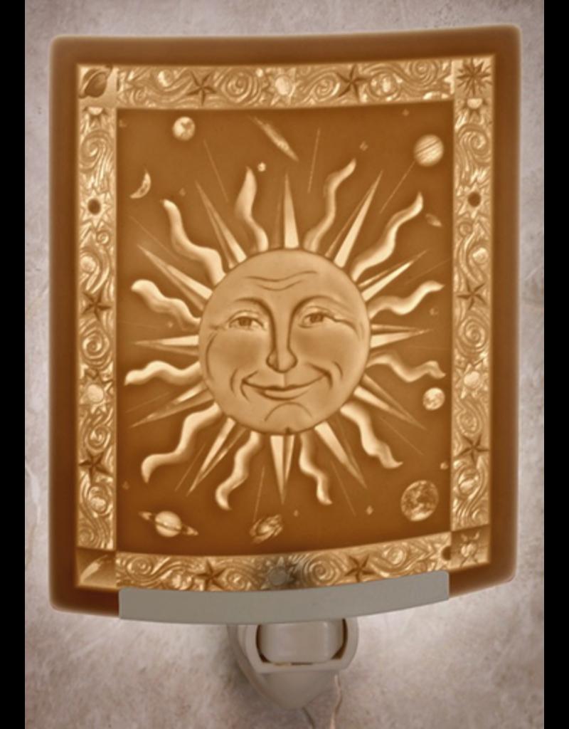 Porcelain Garden MR. SUN (Lithophane Nightlight)