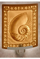 Porcelain Garden NAUTILUS (Lithophane Nightlight)