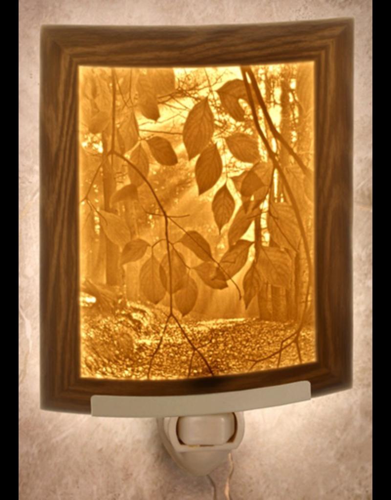 Porcelain Garden SECRET PATH (Lithophane Nightlight)