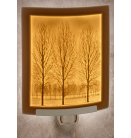 Porcelain Garden SOLITUDE (Lithophane Nightlight)