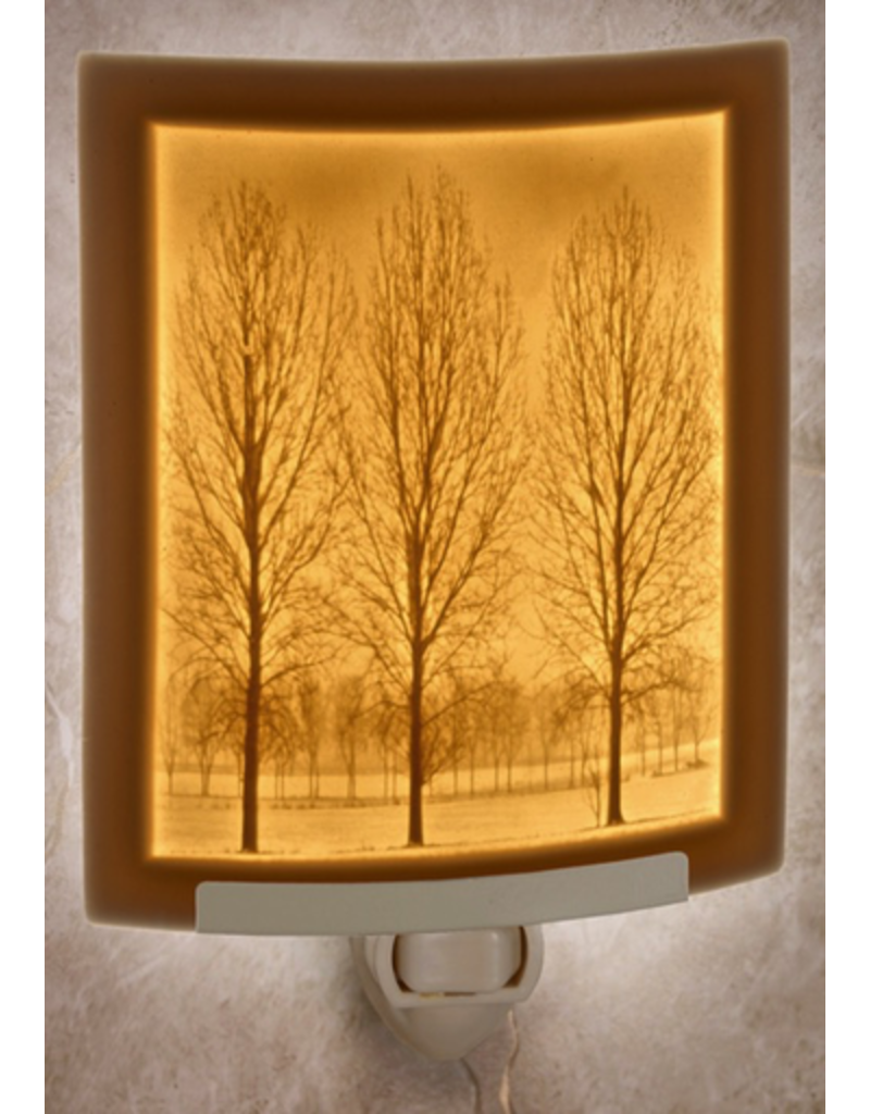 Porcelain Garden SOLITUDE (Lithophane Nightlight)