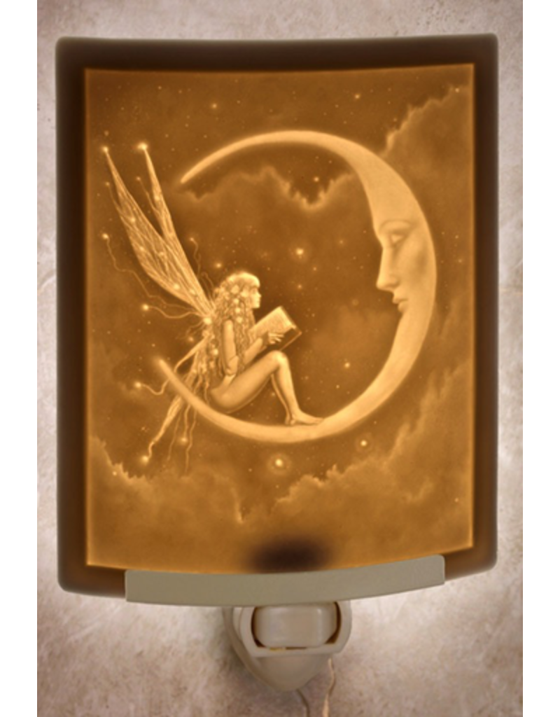 Porcelain Garden STORY FAIRY (Lithophane Nightlight)