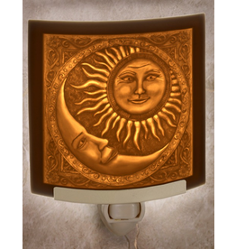 Porcelain Garden SUN AND MOON (Lithophane Nightlight)