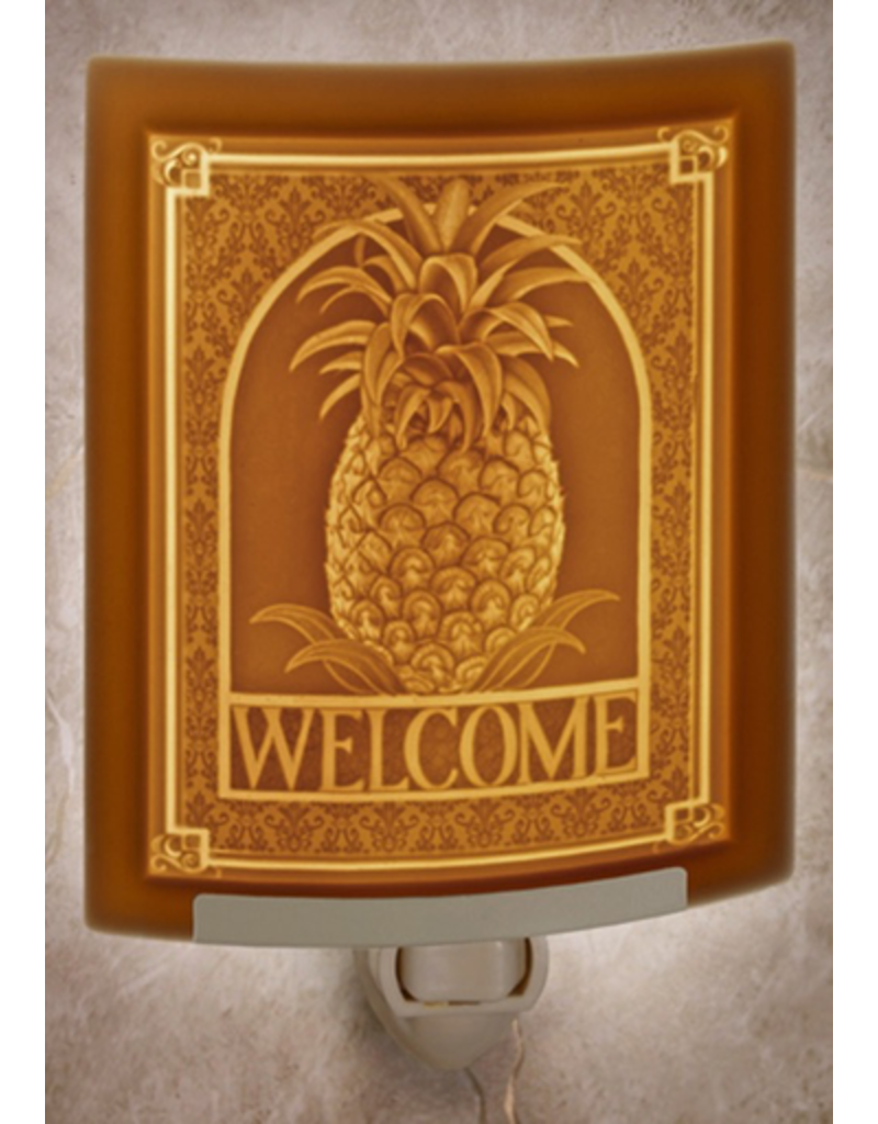 Porcelain Garden WELCOME (Lithophane Nightlight)