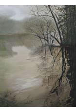 Robert Hinkelman Shadows on the Creek (Original Acrylic, Signed, Framed, 18x24)