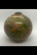 """Mundo Handmade Pot (Sea Life, Assorted, Sm, 8""""H x 5""""D)"""