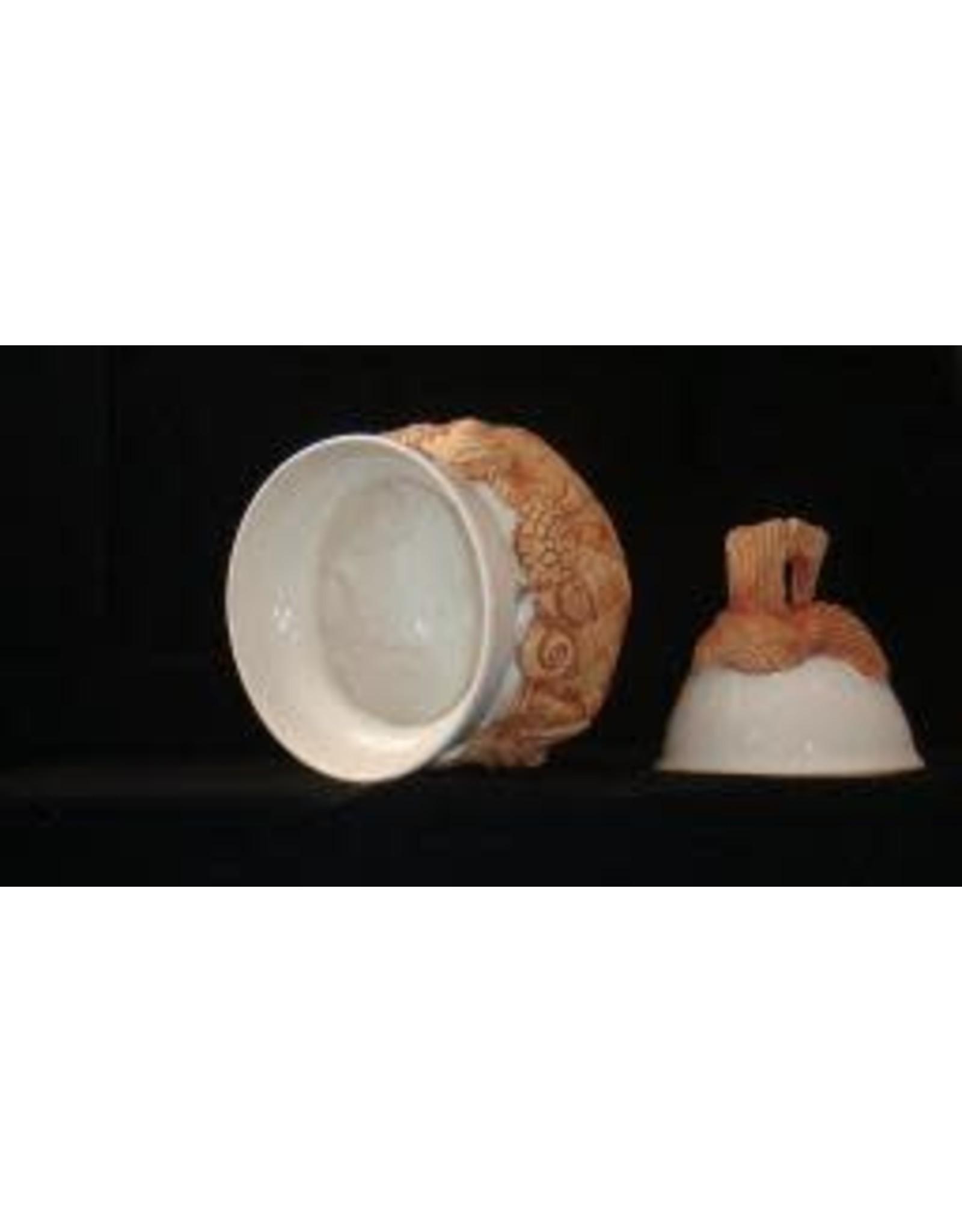 Charlestowne Porcelaine BOWL (Sugar, w/Lid, Lg, #40)