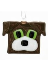 Glassworks Northwest DOG ORNAMENT (KTK)