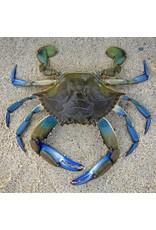 Zen Art & Design Blue Crab (Sm, 126 Pieces, ZEN Wooden Jigsaw Puzzle)