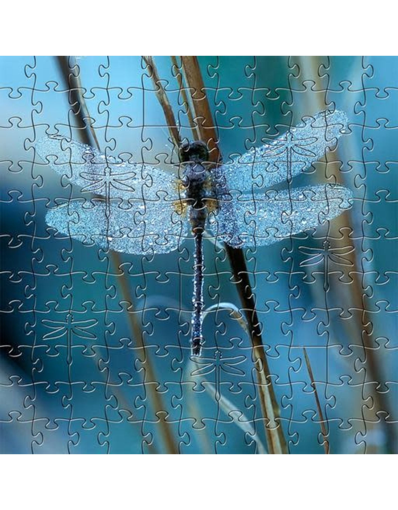 Zen Art & Design Waiting for the Sun (Sm, 126 Pieces, Artisanal Wooden Jigsaw Puzzle)