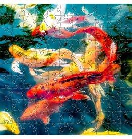 Zen Art & Design Koi (Sm, 126 Pieces, ZEN Wooden Jigsaw Puzzle)