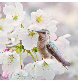 Zen Art & Design Anna's Hummingbird (Teaser, 50 Pieces, Artisanal Wooden Jigsaw Puzzle)