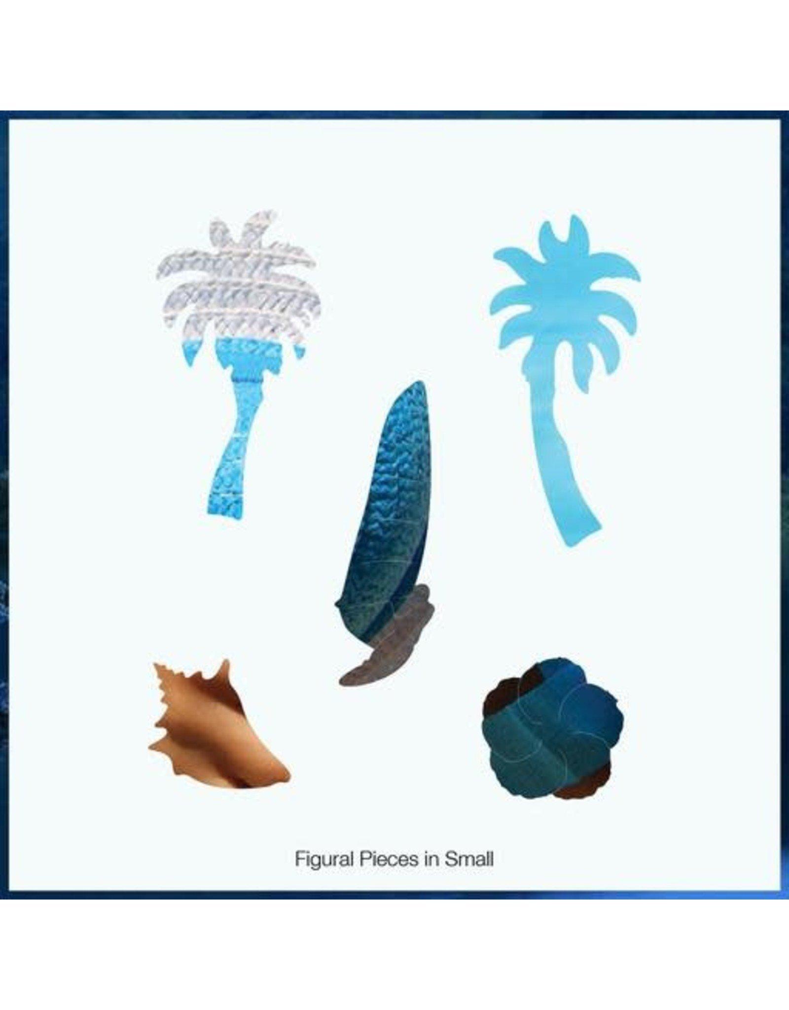 Zen Art & Design Blue Hat (Sm, 126 Pieces, Artisanal Wooden Jigsaw Puzzle)