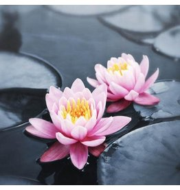 Zen Art & Design Lotus Blossoms (Md, 205 Pieces, Artisanal Wooden Jigsaw Puzzle)