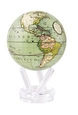 "Mova Globes ANTIQUE TERRESTRIAL GREEN (4.5""D.)"