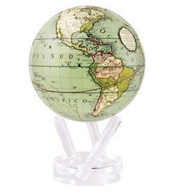 "Mova Globes ANTIQUE TERRESTRIAL GREEN (4.5""D.)"