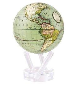 "Mova Globes ANTIQUE TERRESTRIAL GREEN (MOVA Globe 4.5"" w/Acrylic Base)"