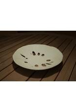 Karen Hovis Sand Dollar Bowl (10.5D. x 2H)