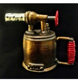 Tom Bieber Blow Torch (Ceramic, Steampunk Industrial)