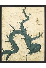 WoodCharts Lake Travis, TX (Bathymetric 3-D Nautical WOODCHART)