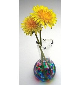 Henrietta Glass VASE (Love  You, Mom)