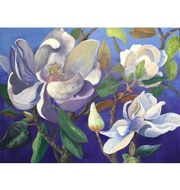 Sharon McCuen Magnolias (Original Acrylic, Gallery Wrap, 40x30)