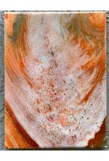 Sandra Stroot White Tide (Fluid Acrylic, 9x12)