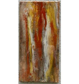 Sandra Stroot Red Granite (Fluid Acrylic, 10x20)