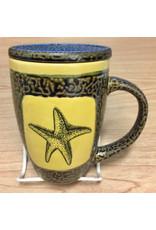 Rare Earth Gallery STARFISH (Mug w/Lid)