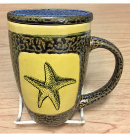 Rare Earth Gallery STARFISH (Mug w/Lid)