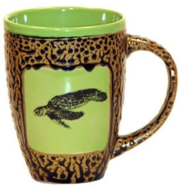 Rare Earth Gallery SEA TURTLE (Mug w/Lid)