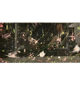 Paula Moore Petals on the Loose (Original Fluid Acrylic, 10x20)