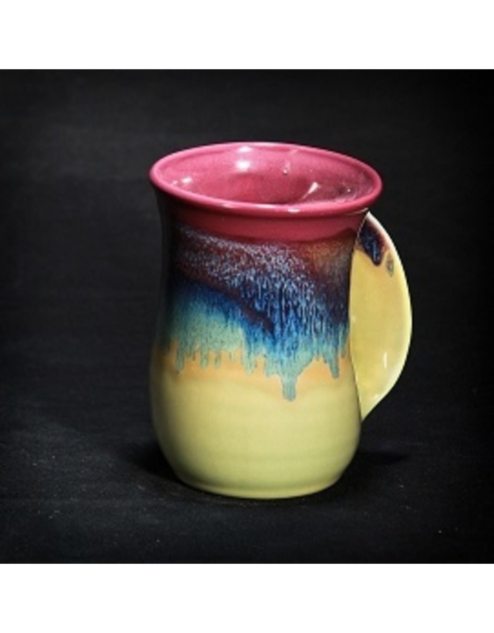 Clay In Motion HANDWARMER MUG (RIGHT, 14 o, CLAY)