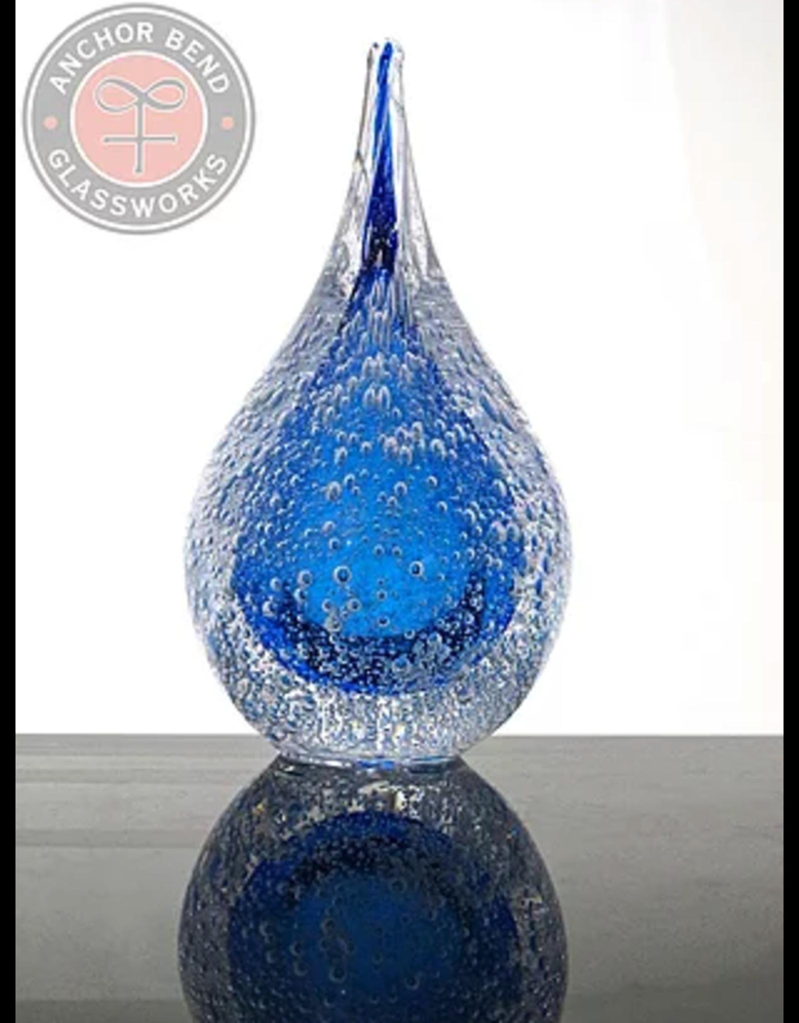 Anchor Bend Water Drop w/Bubbles Sculpture (ANCB)