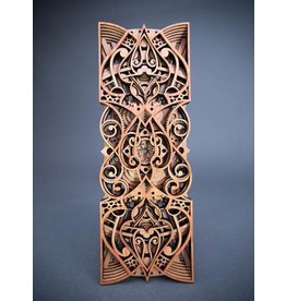 "Philip Roberts Spadile (Wood Relief Sculpture, 16x6"")"